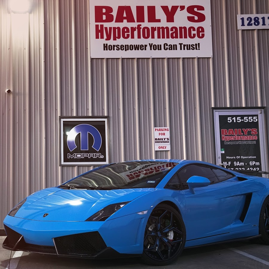 Lamborghini Baily's Hyperformance
