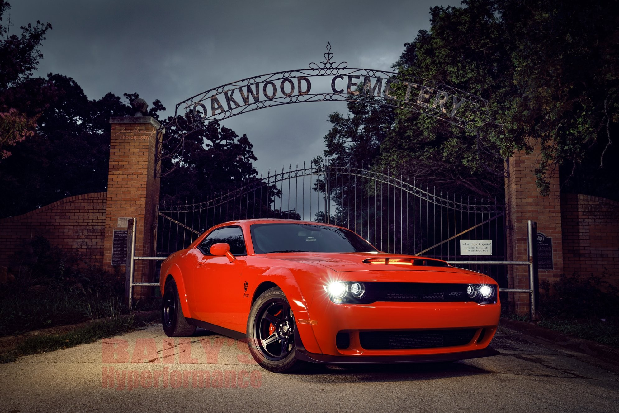 Dodge Demon Apocalypse Baily's Hyperformance